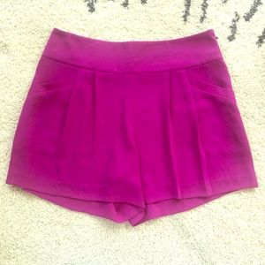 LOFT  Fuchsia Summer Shorts
